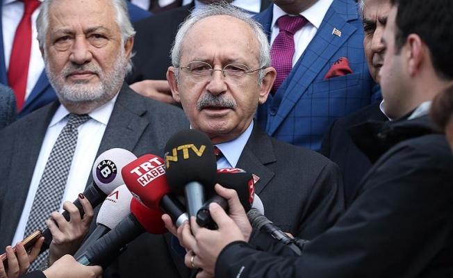Kılıçdaroğlu: Her türlü desteği vermeye hazırız