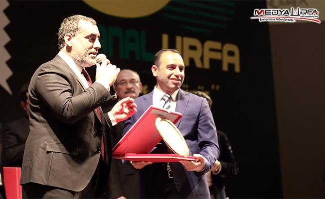 Nevzat Çiçek'e ''Yılın Başarılı Gazetecisi'' ödülü