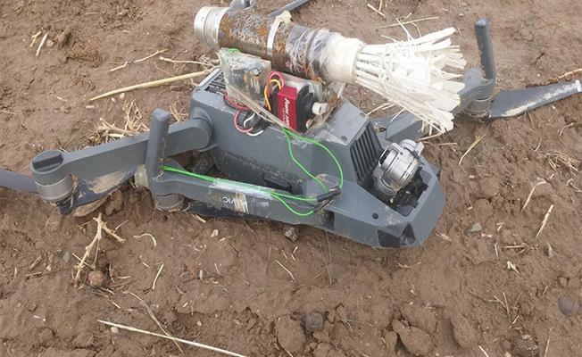"PKK'ya ait bomba yüklü ""drone"" ele geçirildi"