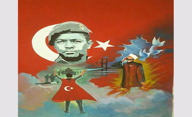 """Şanlıurfa'da """"15 Temmuz Şehitler Köşesi"""" oluşturuldu"""