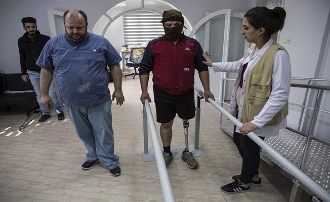 Savaşın parçaladığı bedenler protezle tamamlanıyor