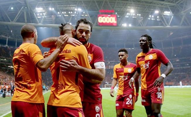 Süper Lig'de Galatasaray liderliğini sürdürdü