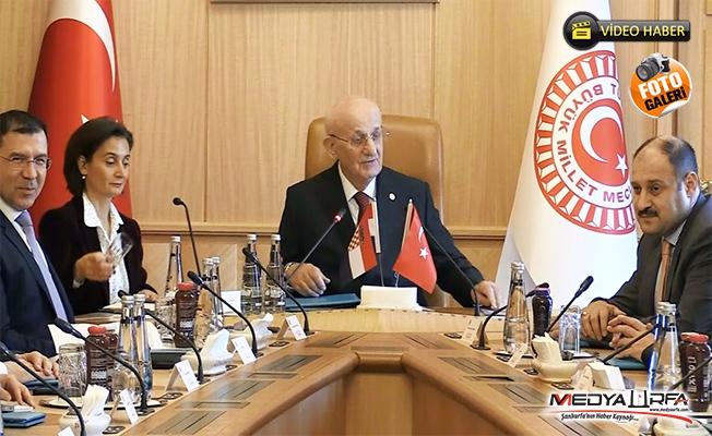 TBMM Başkanı, Hırvat Heyet ve Gülpınar ile görüştü