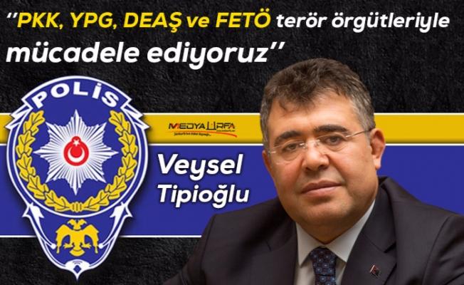 Tipioğlu Şanlıurfa'da Polisin çalışmalarını anlattı