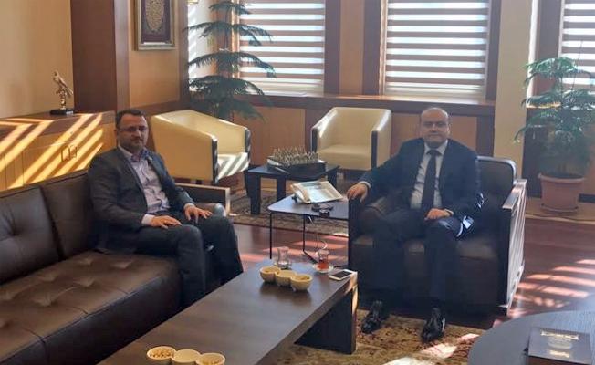 Urfa'da Pasaj Esnafının sorunları Bakan Yardımcısı Metin'e iletildi