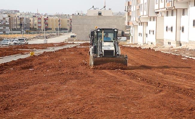 Yeni yeşil alanlar Haliliye'ye kazandırılıyor