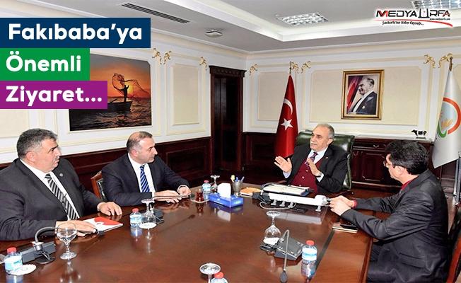 Bülent Tunç, Bakan Fakıbaba ile görüştü