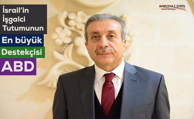 Mehdi Eker Urfa'da ABD'nin Kudüs kararını değerlendirdi