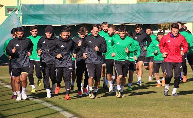 Urfaspor, Konyaspor maçı hazırlıklarını tamamladı