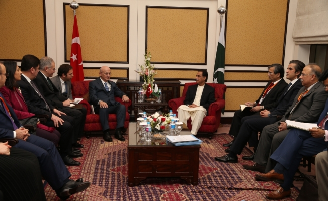 TBMM Başkanı Kahraman, Pakistan'da