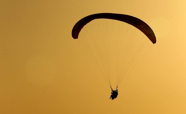 """Yamaç paraşütü pilotluğu """"meslek"""" oldu"""