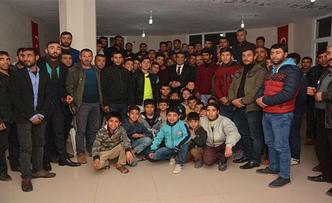 Başkan Atilla gençlerle buluştu