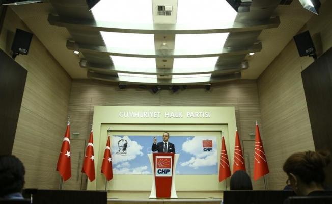 CHP MYK'de OHAL ve Afrin konuşuldu