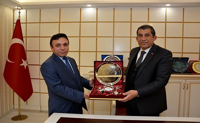Durgut'tan Başkan Atilla'ya Ziyaret