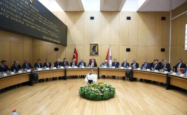 EGM'de yılın ilk koordinasyon toplantısı
