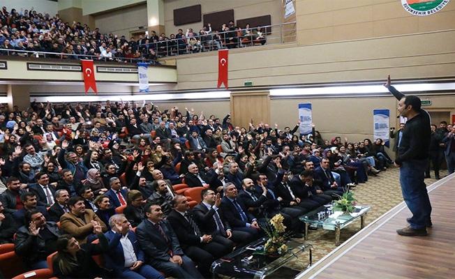 Hükümlüler için kişisel gelişim semineri verildi