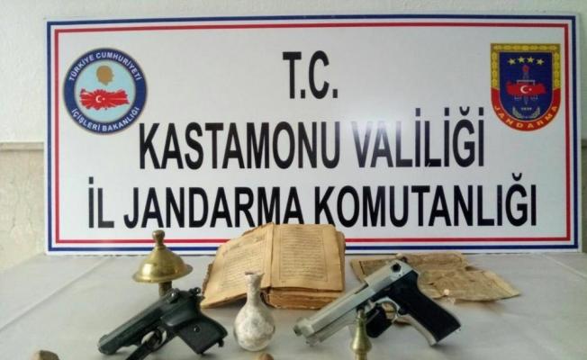 Kastamonu'da tarihi eser operasyonu