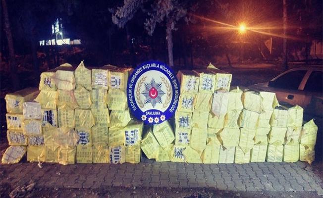 Tankerde binlerce kaçak sigara ve uyuşturucu madde yakalandı