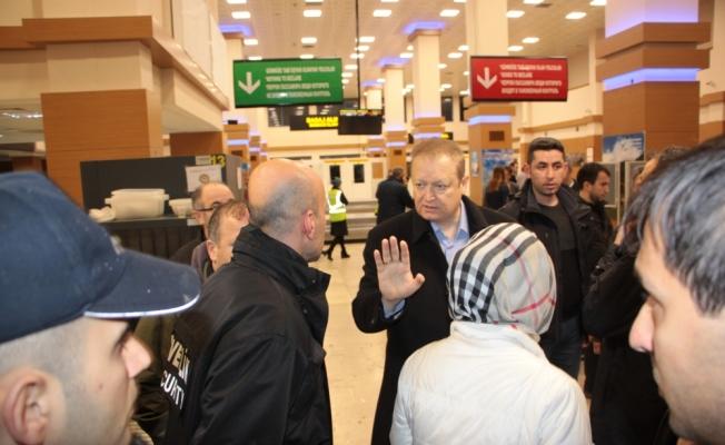 Trabzon Havaalanı'na inen uçağın pistten çıktı