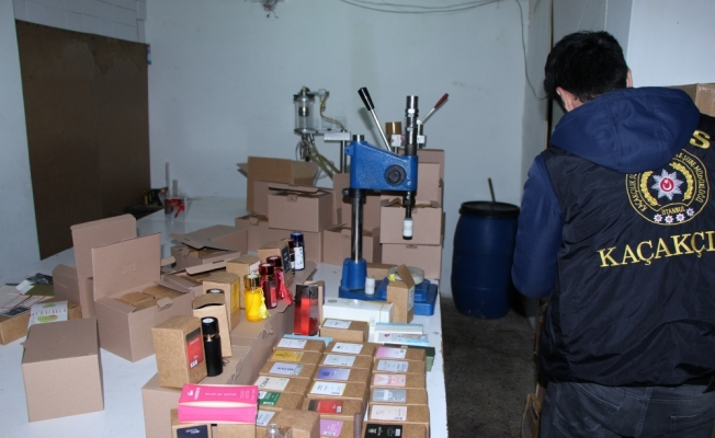 Bağcılar'da sahte parfüm operasyonu