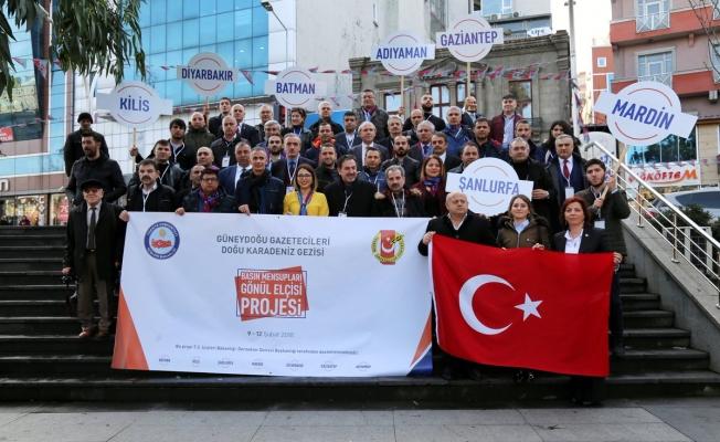 Basın Mensupları Gönül Elçisi Projesi
