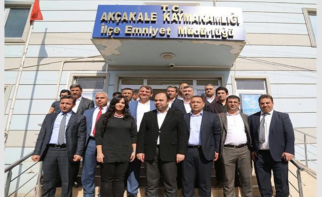 Başkan Çiftçi, Akçakale'de Emniyet Müdürlüğünü ziyaret etti
