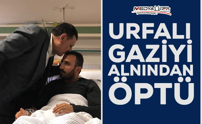 Başkan Özyavuz, Urfalı Gazi Tokmak'ı ziyaret etti