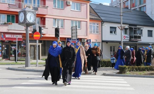 """Bosna Hersek'te """"Dünya Başörtüsü Günü"""" kutlandı"""