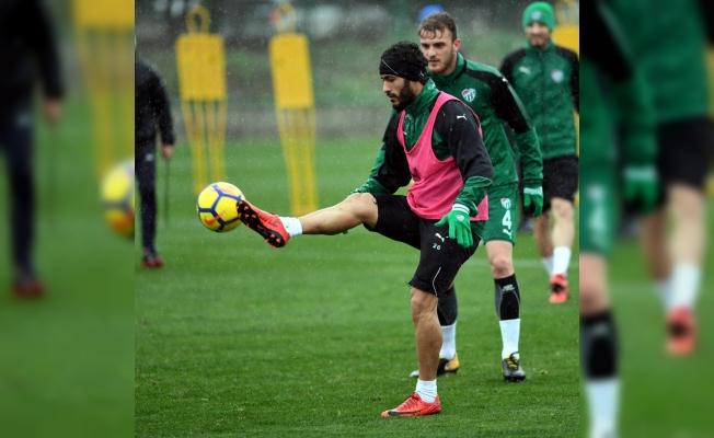 Bursaspor'da Kayserispor maçı hazırlıkları