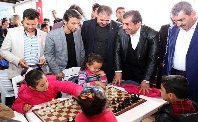 Ceylanpınar'da Satranç kursu merkezi açıldı