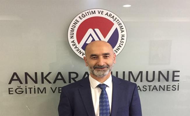 Ercan Yeni Ankara'ya Başhekim olarak atandı