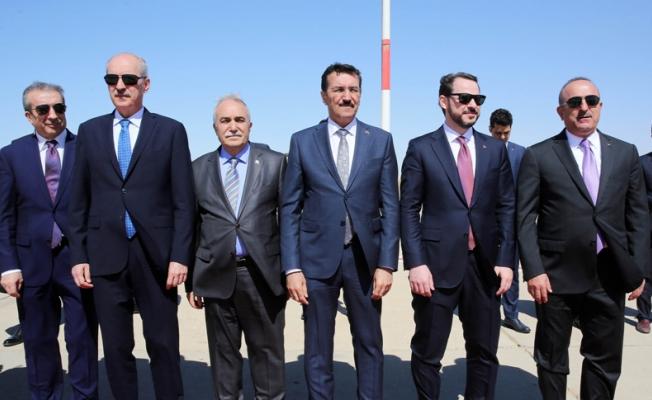 Erdoğan ve Fakıbaba Moritanya'ya geldi