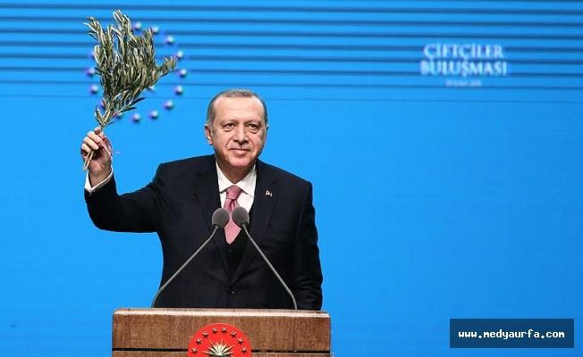 Erdoğan'dan çiftçiye 'mazot' müjdesi