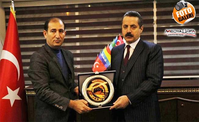 Faruk Çelik, Türkmenler Birliğini ziyaret etti