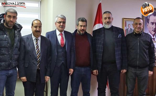 Fatih Bucak, Urfalı bürokratları ziyaret etti