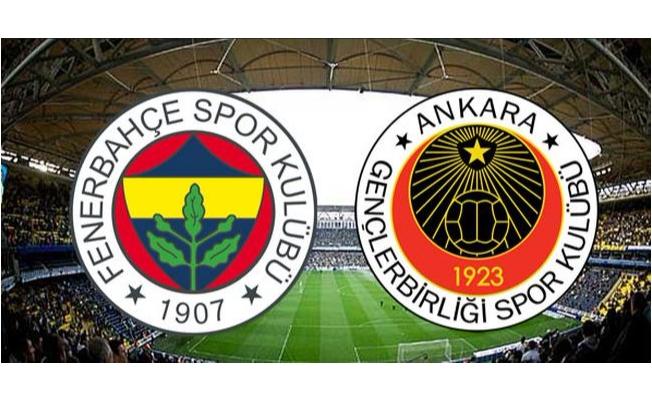 Fenerbahçe'nin konuğu Gençlerbirliği