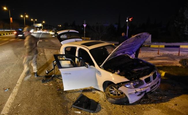 Gaziantep'te trafik kazası: 3 yaralı