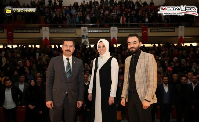 Karaköprü'de Osmanlı Torunu Sultan Abdulhamid'i anlattı