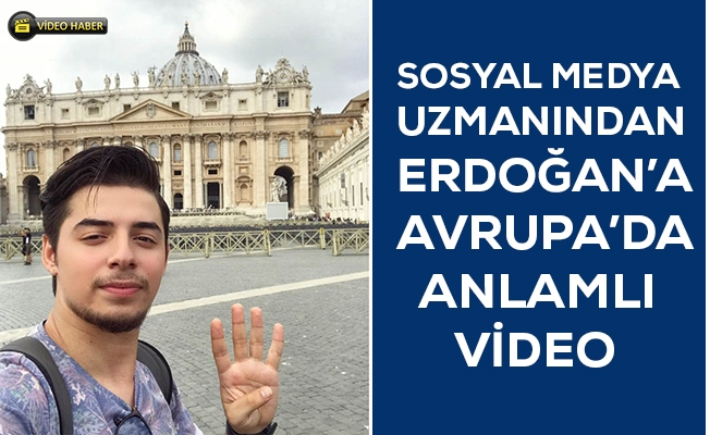 Melih Esat Açıl'dan Erdoğan'a doğum günü videosu