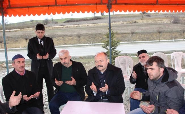 MHP Grup Başkanvekili Usta'dan şehit ailesine ziyaret