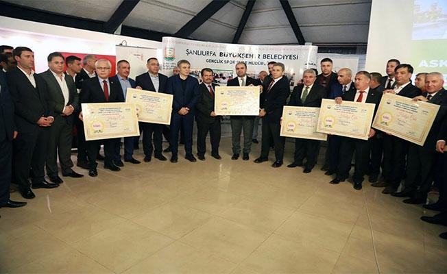 Şanlıurfa'da Amatör Spor Kulüplerine destek