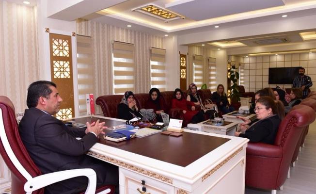 Şanlıurfa KADEM, Başkan Atilla'yı ziyaret etti