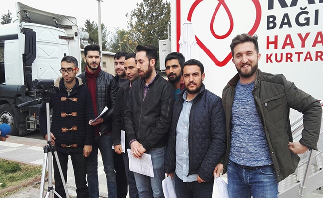 Siverek AK Gençlik, Mehmetçik için kan verdi