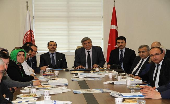 STK temsilcileri HRÜ'de toplandı