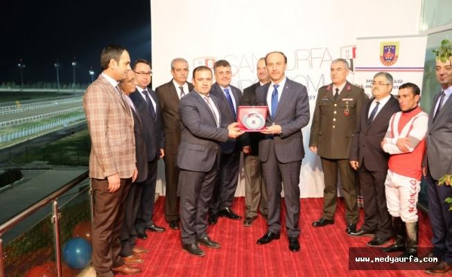 Urfa'da Jandarma Kupası Koşusu Yapıldı