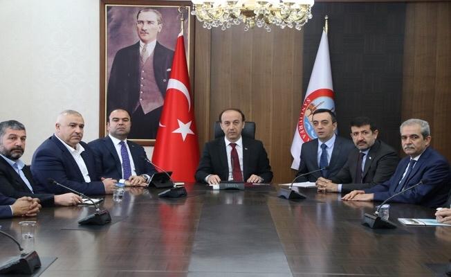 Valilikte Cumhurbaşkanı'na hazırlık toplantısı