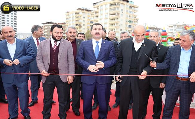 Yöresel ürünler fuarı Karaköprü'de açıldı