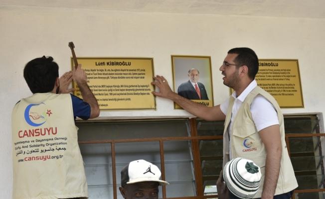Cansuyu Derneği, Sierra Leone'de okul açtı
