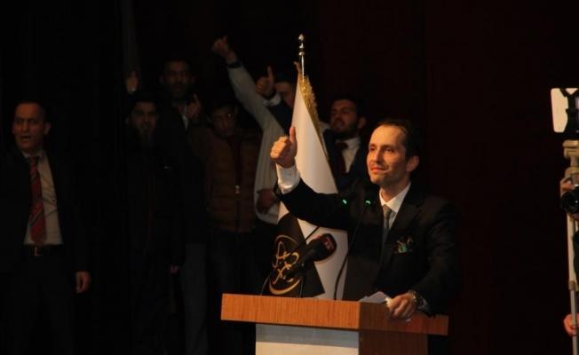 Necmettin Erbakan Sivas'ta anıldı
