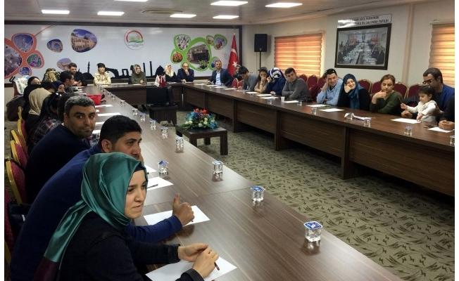 Şanlıurfa'da ''Mahremiyet eğitimi'' semineri verildi